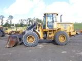01 John Deere TC54H Wheel Loader (QEA 8703)