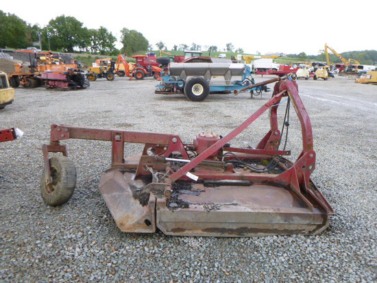 Brown 3pt tree cutter rotary mower (QEA 3156)