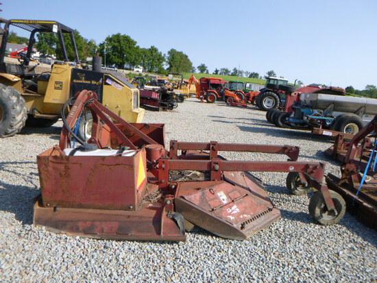 Brown 3pt tree cutter rotary mower (QEA 3163)