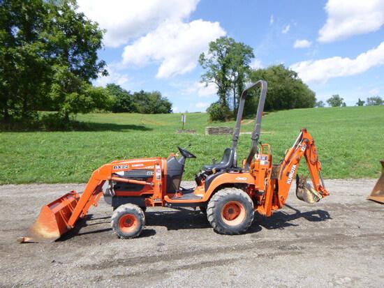 Kubota BX22D Tractor (QEA 8211)