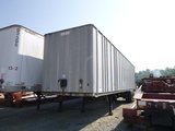78 Fruehauf Box Trailer(7546) ^Title^ (QEA 3152)