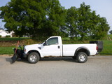 08 Ford F250 Truck w/Plow & Salt Spreader ^Title^ (QEA 3211)