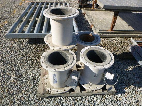 (5) 12in Digital Flow Meters (QEA 2209)