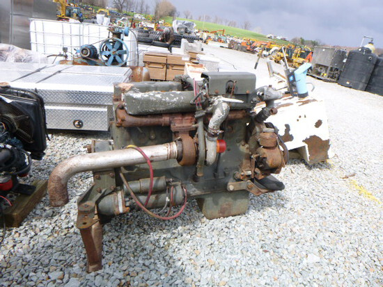White Diesel 6cyl Engine (QEA 2035)