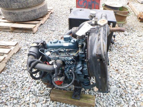 Kubota Diesel Engine w/ Radiator (QEA 2036)