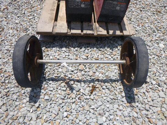 Axle w/Wheel (QEA 2439) (QEA 2439)