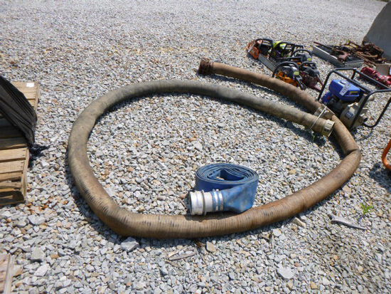 50ft 4 in & 20ft 4in Water Pump Hose (QEA 2503) (QEA 2503)