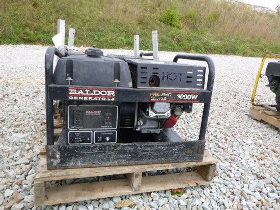 Baldor 3000w Generator - Honda Engine (QEA 2895)