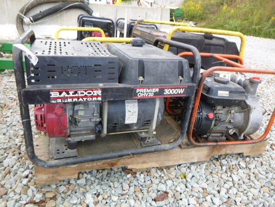 Baldor 3000w Generator - Honda Engine (QEA 2896)