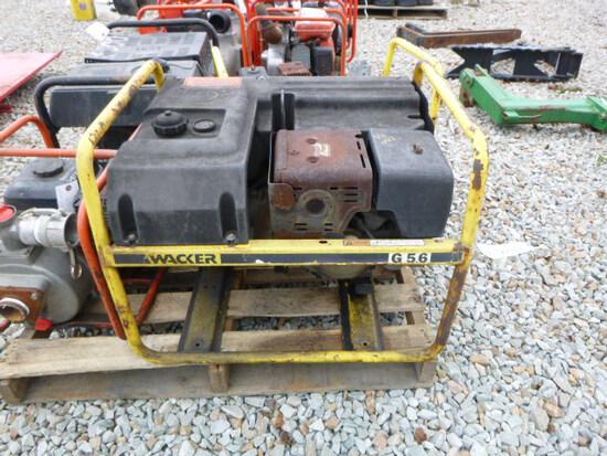 Wacker G56 Generator - 11 hp (QEA 2897)