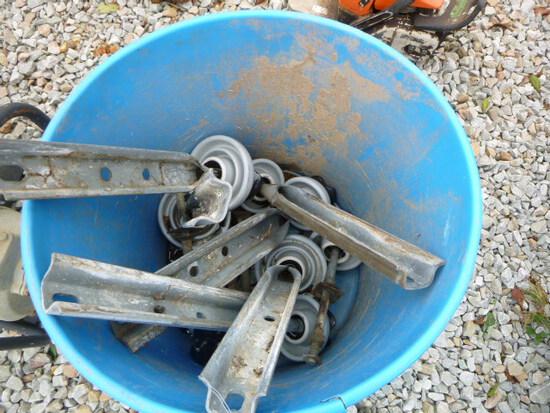 Basket of Electrical Insulators (QEA 2826)