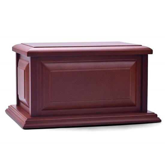Urns for Human Ashes Adult Wooden,Wooden Urns,Professional Wood Urn with Hand-Made Design for Human