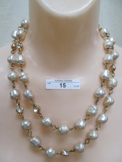 "15 42"" FRESH WATER PEARL NECKLACE"