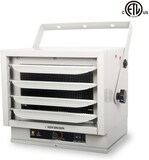 KEN BROWN 3000/4000/5000W Fan Forced Ceiling Mount Heater with Dual Knob Controls for Garage Worksho
