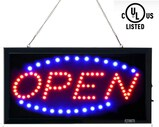 Business Open Sign Advertisement Board Electric Display Sign 2 Modes Flashing & Steady Light for Bus