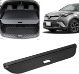 Retractable Rear Trunk Security Shield Cargo Luggage Security Cover Shade Replacement for 2016-2019