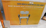 GUARDIAN BATH BENCH WITH BACK AND ARMS
