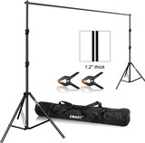 Heavy Duty Background Stand Backdrop Support System Kit with Carry Bag for Photography
