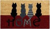 Better Trends Cat Home Coir Door Mat