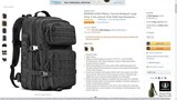 REEBOW GEAR Military Tactical Backpack Large Army 3 Day Assault Pack Mole Bag Backpacks