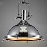 Industrial Nautical Style Single Pendant Light - LITFAD 15.75