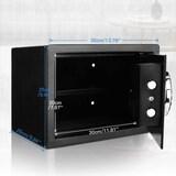 Nakey Digital Electronic Safe Security Box Steel Deposit Safe for Home & Office Cabinet Safe with Ke