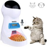 Automatic Cat Feeder 3L Pet Food Dispenser Feeder for Medium and Large Cat Dog——4 Meal Voice Recorde