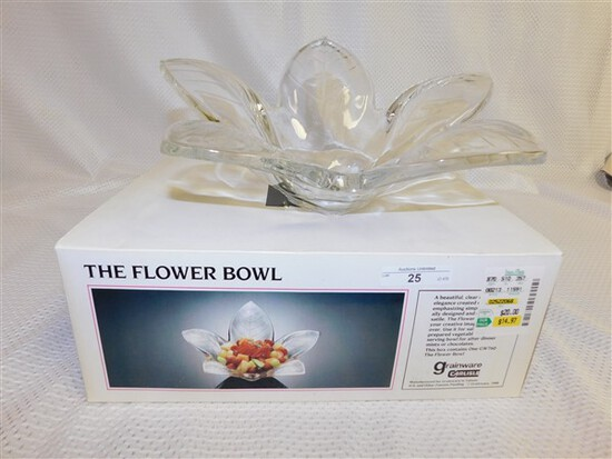 ACRYLIC FLOWER BOWL