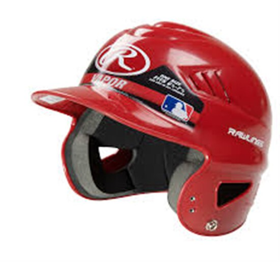 Rawlings Official Batting Helmet ~ Fits Sizes 6.5-7.5 ~ Color Scarlett