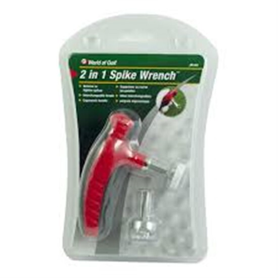 World of Golf 2-in-1 Spike Wrench