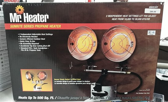 Mr. Heater Sunrite Series Propane Heater