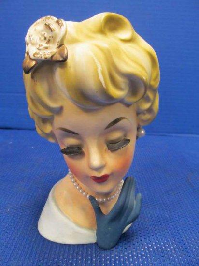 Vintage Lady Head Vase Inarc Auctions Online Proxibid
