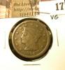 1846 U.S. Large Cent, VG.