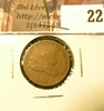 1858 U.S. Flying Eagle Cents, small letters, VG.