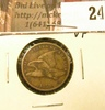1858 U.S. Flying Eagle Cents, small letters, VF.