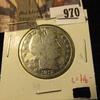 970 . 1912-S Barber Half Dollar, G polished, G value $16