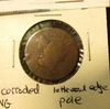 1795 U.S. Half Cent, VG with pole & lettered edge, VG with light reverse corrosion.