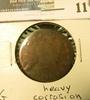 1811 U.S. Large Cent, G, heavy corrosion.