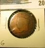 1821 U.S. Large Cent, G.