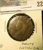 1823 U.S. Large Cent, G, heavy corrosion.