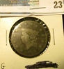 1824 U.S. Large Cent, G, scratches.