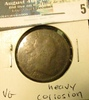 1805 U.S. Large Cent, VG, heavy corrosion.
