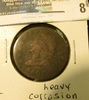 1808 U.S. Large Cent, G, heavy corrosion.