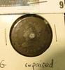 1809 U.S. Large Cent, G, interesting repair.