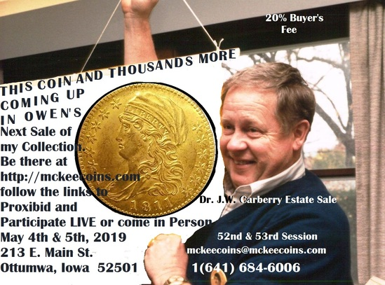 Dr. J.W. Carberry Estate Auction Sess 52 & 53