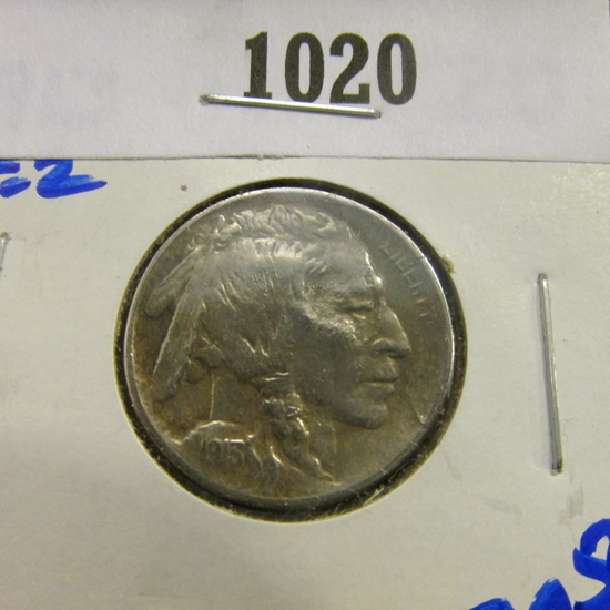 1913 P Type 2 Buffalo Nickel