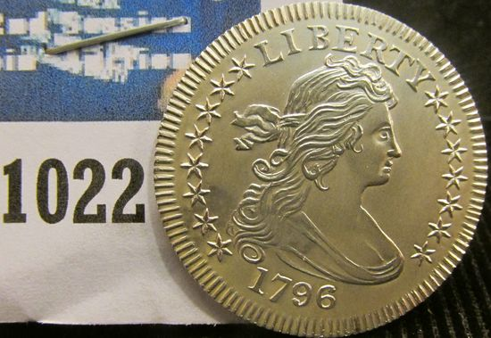 Silver Restrike Of The 1796 Quarter.  This Coin Was Restruck In The 1970's.  They Are Highly Collect
