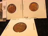 1945 P, D, & S Lincoln Cents, mostly Red Lincoln Cents, Brilliant Uncirculated.