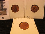 1944 P, D, & S Lincoln Cents, mostly Red Lincoln Cents, Brilliant Uncirculated.