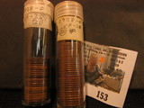 (71) 1928 D Lincoln Cents in a plastic tube, all grading Very Fine. Red Book $240+